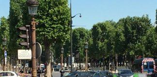 incident la Paris