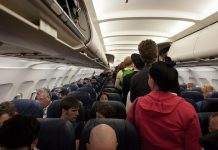 efecte negative zborul cu avionul
