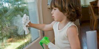 solugtie pentru curatat geamuri