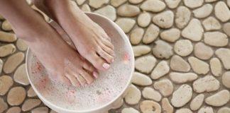 bicarbonat de sodiu - ingrijire picioare