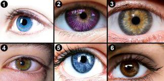alege un ochi personalitate